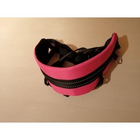Laufgurt Canicross pink mit Beinschlaufen