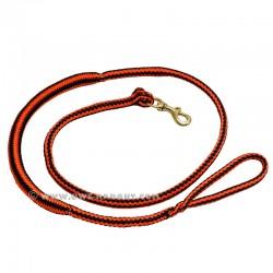 Ligne de trait 2.5m orange-noir (1-chien)