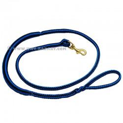 Zugleine 2.5m blau-schwarz (1-Hund)