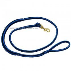Laisse de Canicross bleue-noire 2m