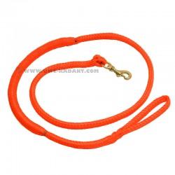 Laisse de Canicross orange 2m