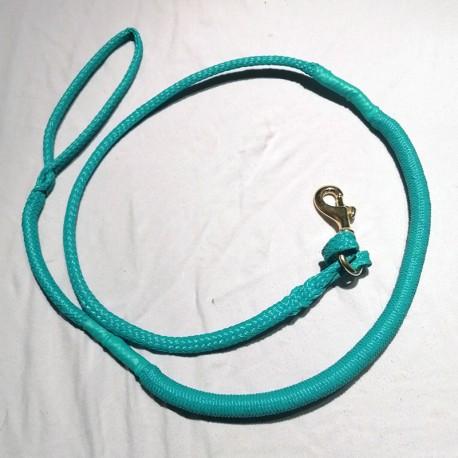 Laisse de Canicross turquoise 2m