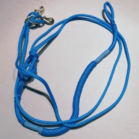 Zugleine 2.5m blau Ultra-Light (2-Hunde)