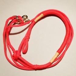 Ligne de trait 2.5m orange Ultra-Light (2-chiens)