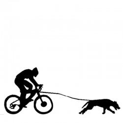Aufkleber Bikejöring