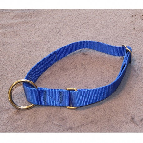 Halsband ohne Zugstop - Uni