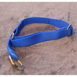 Halsband blau mit Zugstop