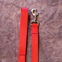 Leine 1.3m rot