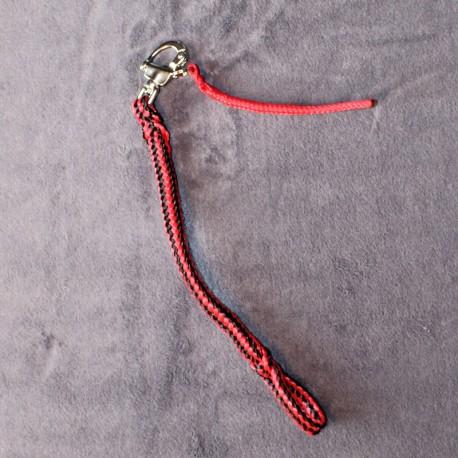 Largeur VTT rouge-noir