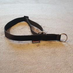 Halsband schwarz Zugstop ZERO DC