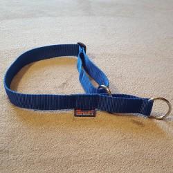 Halsband blau Zugstop ZERO DC