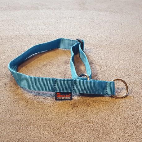 Halsband hellblau Zugstop ZERO DC