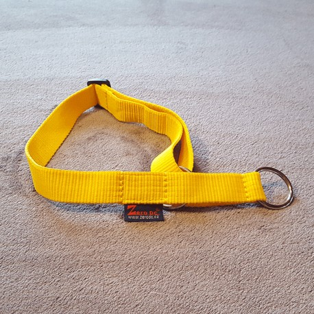 Collier jaune semi-étrangleur ZERO DC
