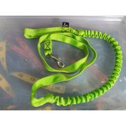 Ligne de trait 2.5m vert néon (1-chien) NEGRO TEAM