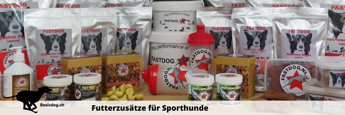 Fastdog Futterzusätze für Sporthunde